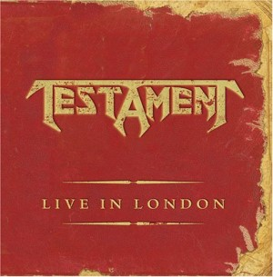 """Live In London"" (CD) by Testament"