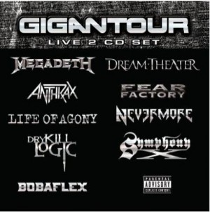 """""""Gigantour"""" by Various Artists"""