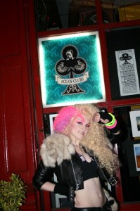 Rock Goddess Coco Caine @ The Ace Of Clubs