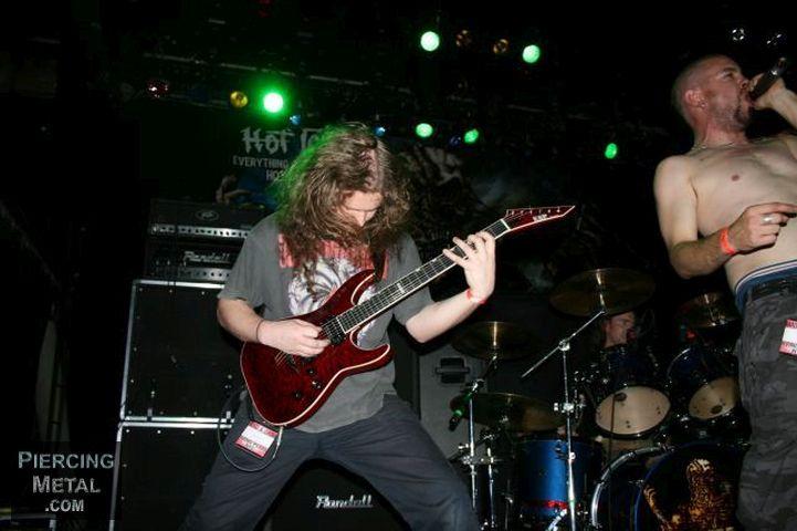 psycroptic, psycroptic concert photos, summer slaughter 2008