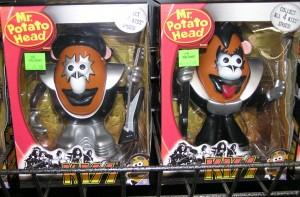 Space Man & Demon Mr. Potato Head Spuds