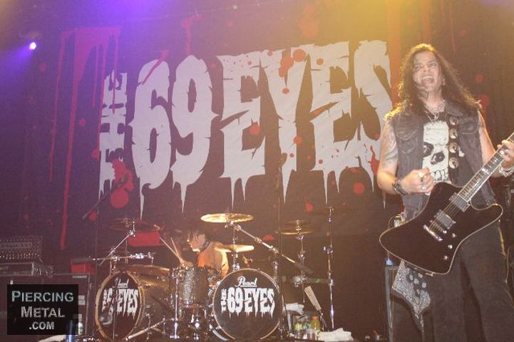 the 69 eyes, the 69 eyes concert photos