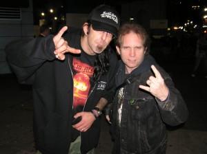 Lamb Of God's Randy Blythe & PiercingMetal's Ken Pierce