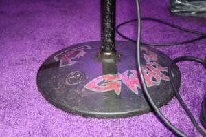 Balsac's microphone stand base