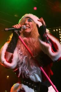 "Santa Dee says ""Naughty?  Or Nice?"""