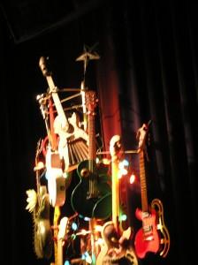 Twisted Guitar Christmas Tree (shot 2)