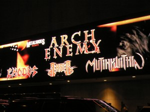 The Marquee: Arch Enemy in NYC