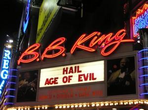 The Marquee: HAIL! Invades B.B. King Blues Club
