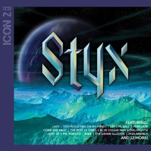 """""""Icon"""" (2CD) by Styx"""