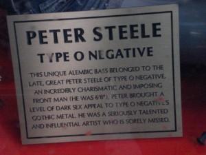 peter steele, type o negative, peter steele memorial