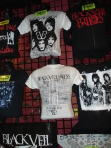 black veil brides merchandise