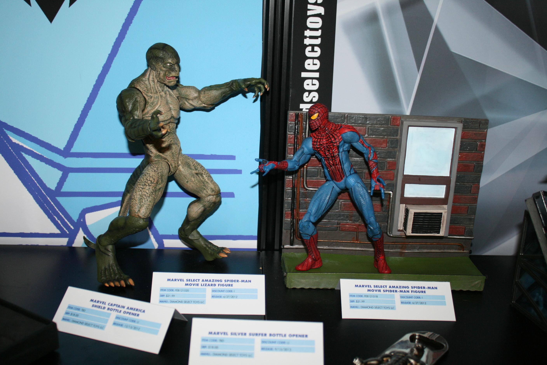 diamond select toys, toy fair 2012, american international toy fair 2012