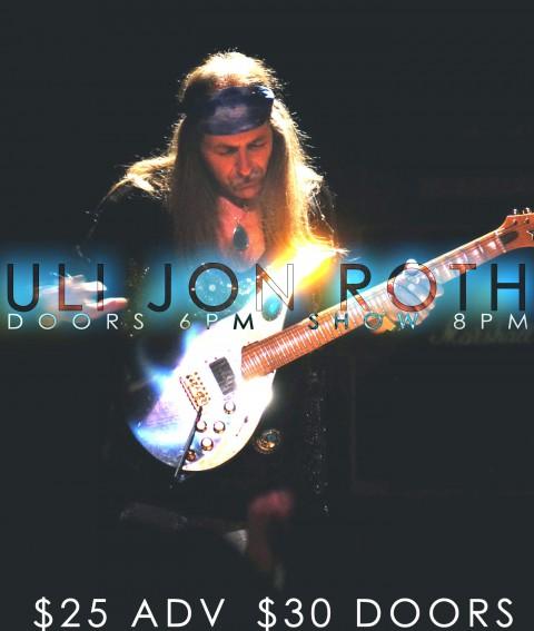 Poster - Uli Jon Roth at Stage 48 - 2013