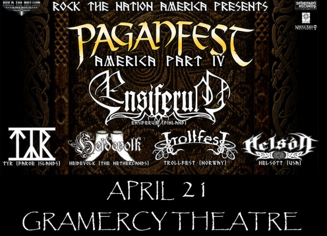 Poster - Paganfest America - 2013
