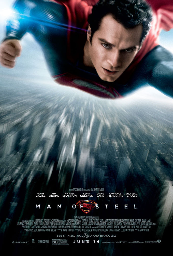 Poster - Man Of Steel - 2013