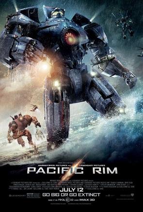 Poster - Pacific Rim - 2013