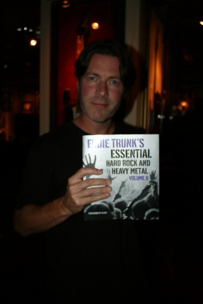 eddie trunk, eddie trunk book release