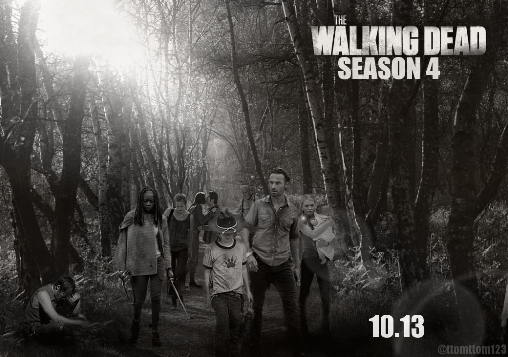 Poster - The Walking Dead - S4