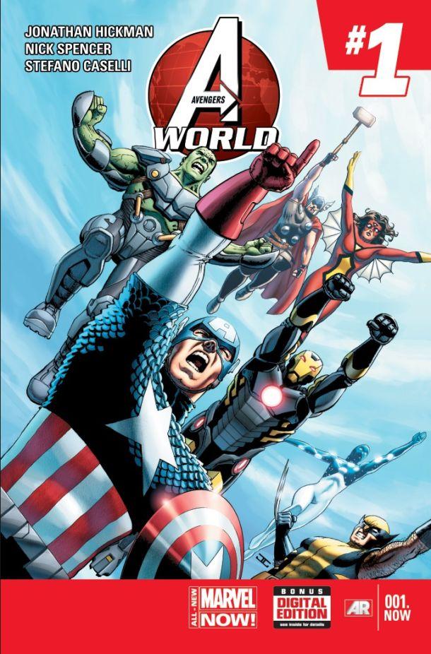 Comic - Avengers World 001