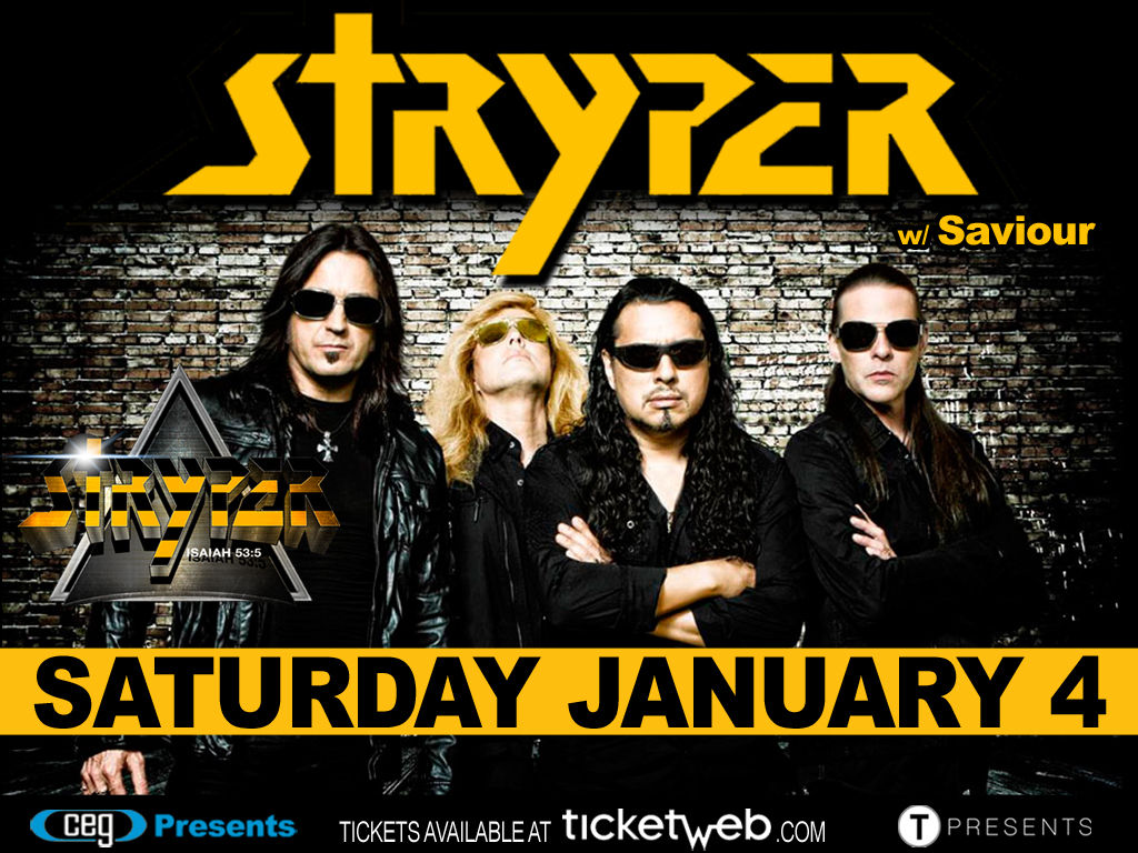 Poster - Stryper at Stage 48 - 2014