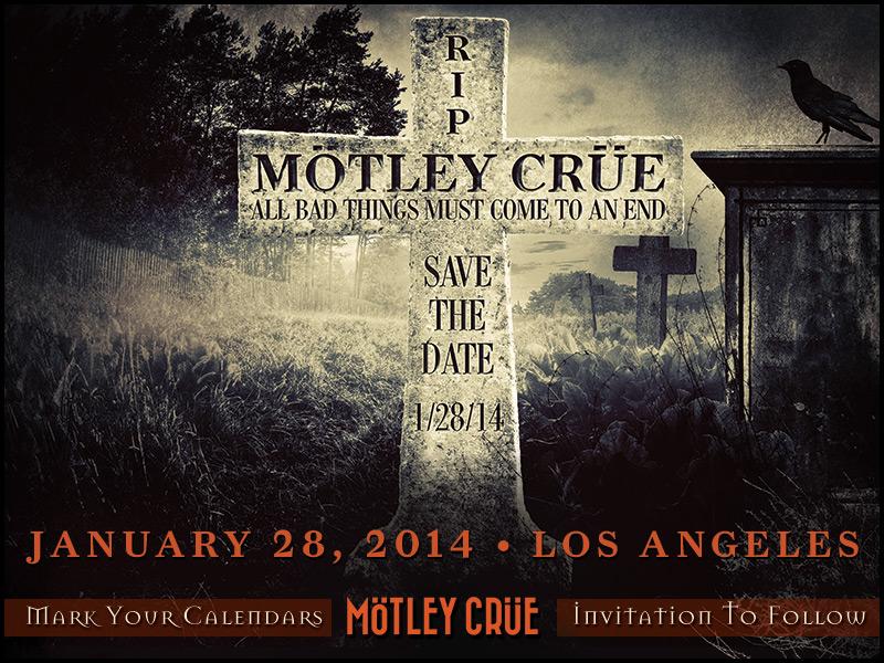 Banner - Motley Crue - 2014
