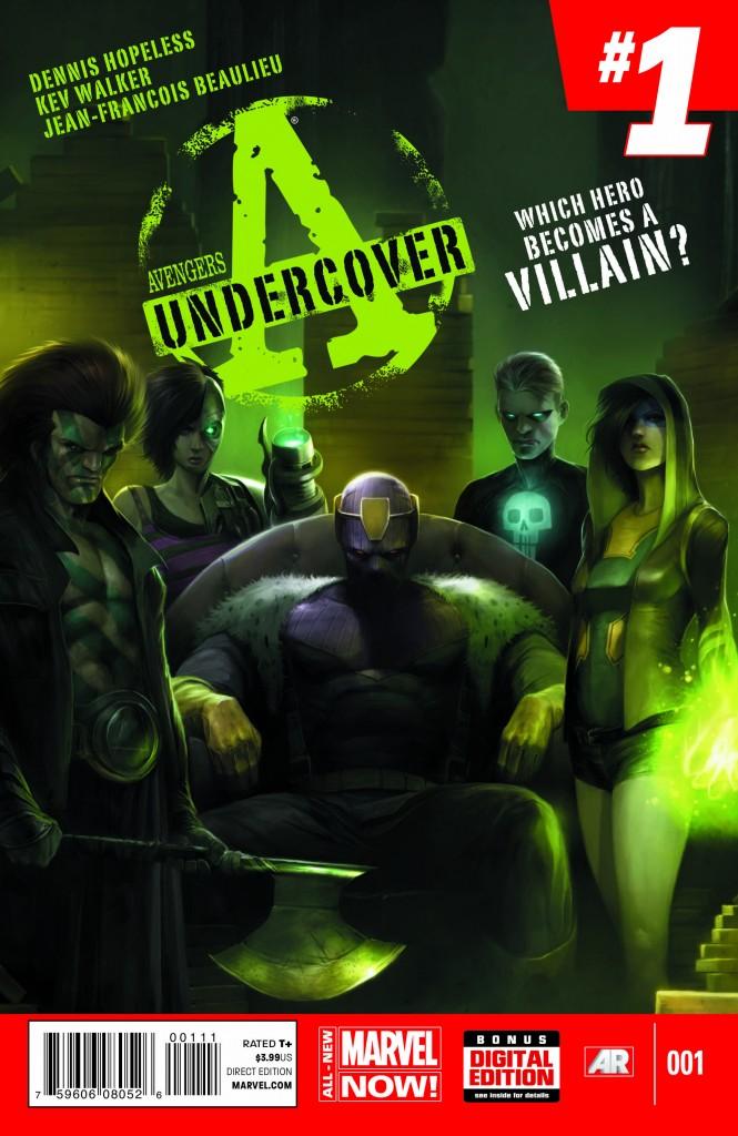Comic - Avengers Undercover -1