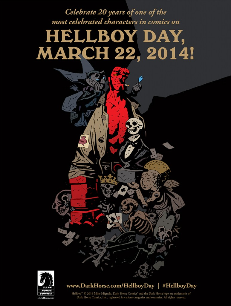 Poster - Hellboy Day