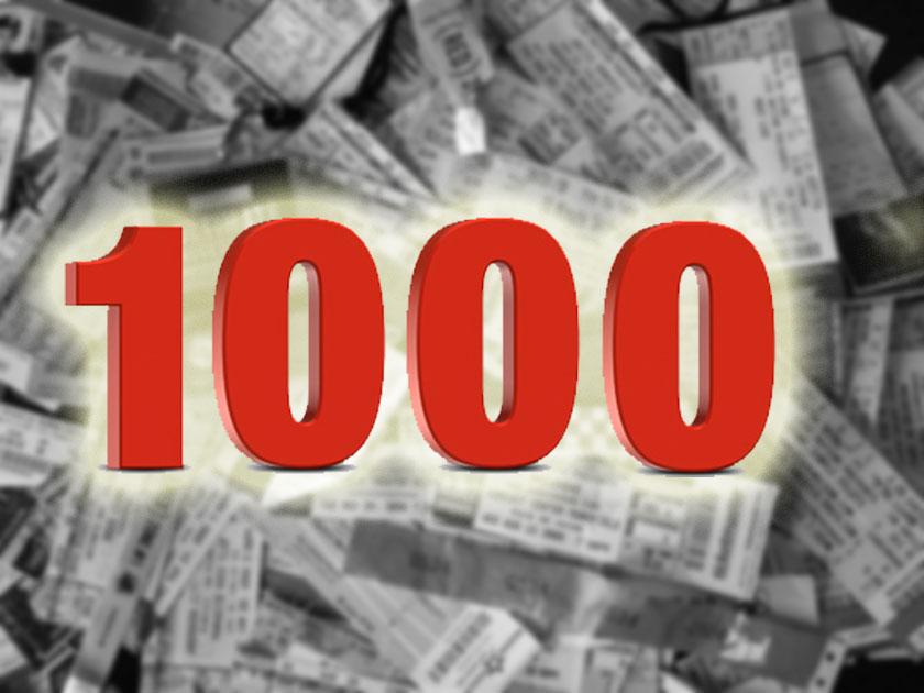 Number - 1000