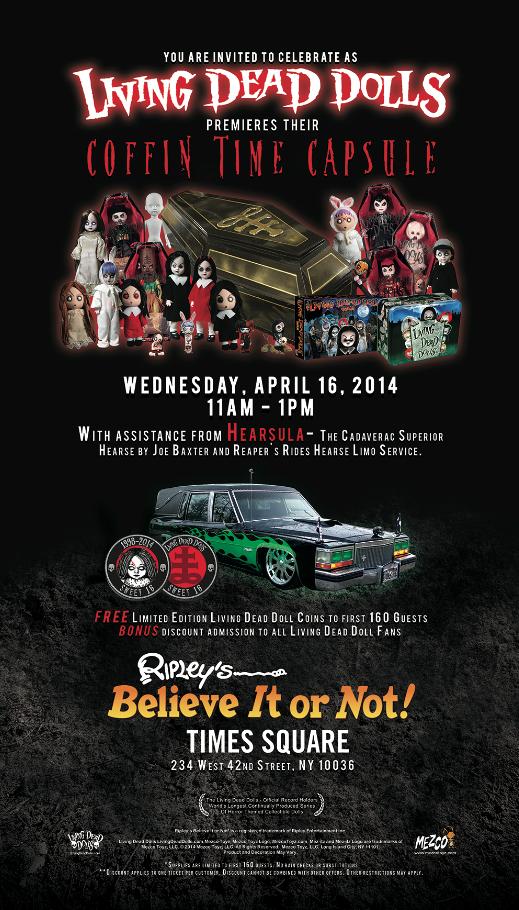 Poster - Living Dead Dolls Event - 2014