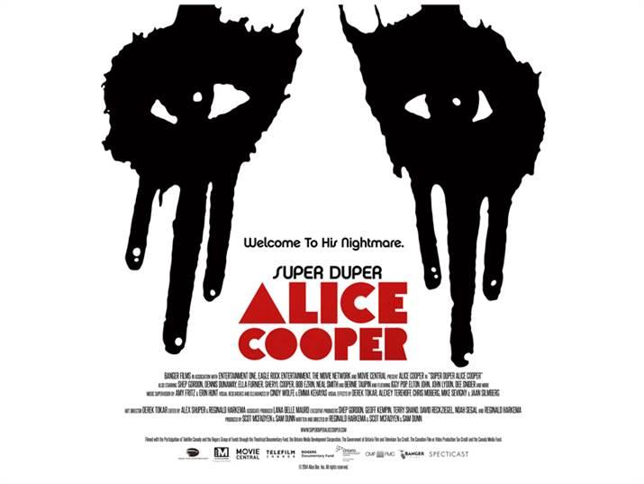 Poster - Super Duper Alice Cooper - 2014