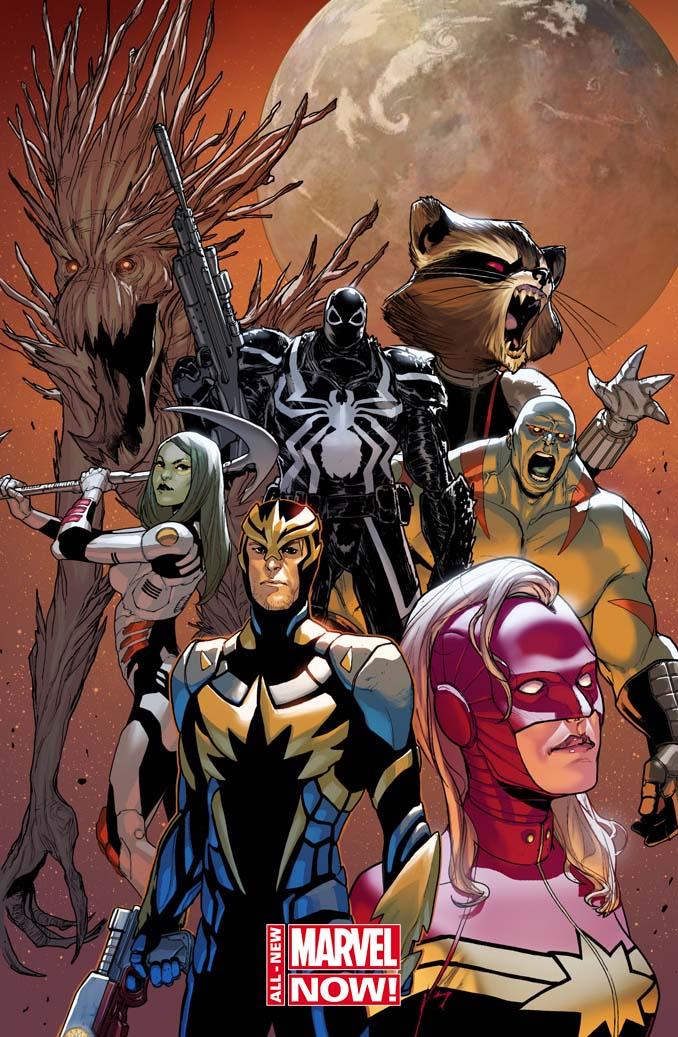 Comic - Guardians Of The Galaxy 1 - FCBD - 2014