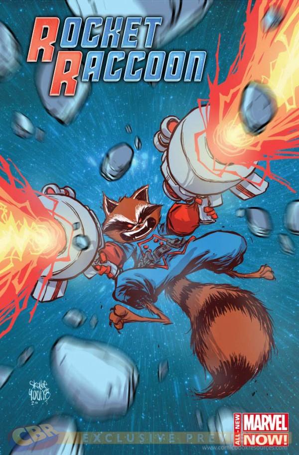 Comic - Rocket Raccoon 1 - FCBD - 2014