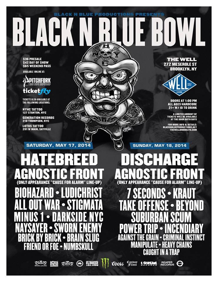 Poster - Black N Blue Bowl - 2014