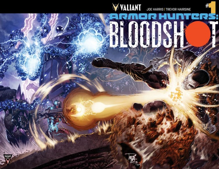 Comic - Armor Hunters Bloodshot 1- 2014