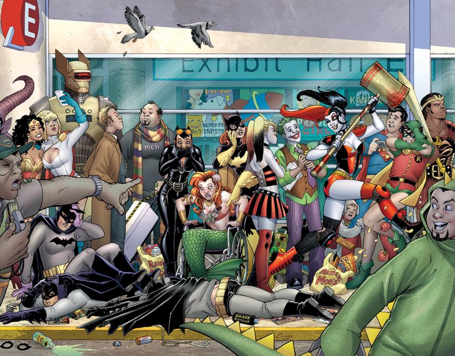 """Harley Quinn Invades Comic-Con International: San Diego"" #1"