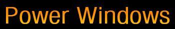 Logo - Power Windows