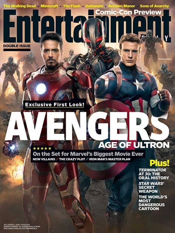 Photo - Entertainment Weekly - Avengers 2