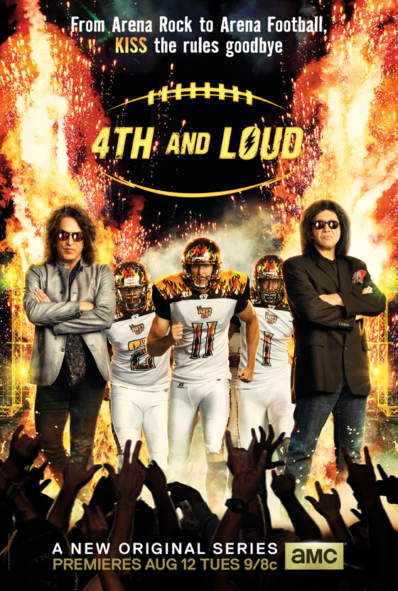 Poster - 4th and Loud