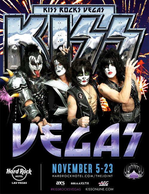 Poster - KISS - Vegas Residency - 2014