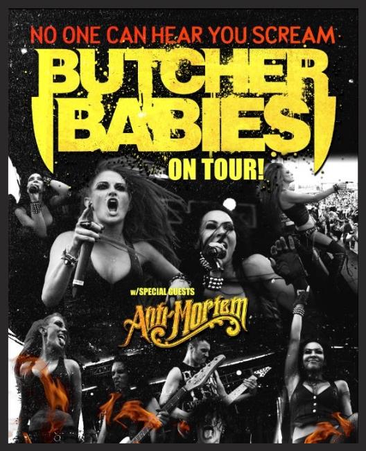 Tour - Butcher Babies - 2014