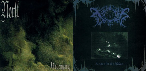 """Hedengang""/""A Curse For The Lifeless"" by Nortt/Xasthur"