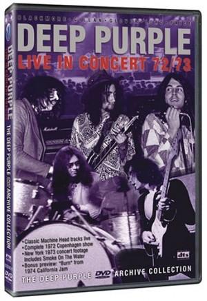 """Live in Copenhagen & New York 72/73"" by Deep Purple"