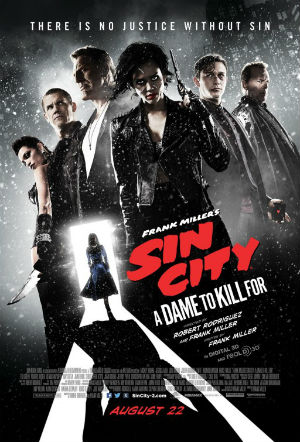 Poster - Sin City A Dame to Kill For - 2014