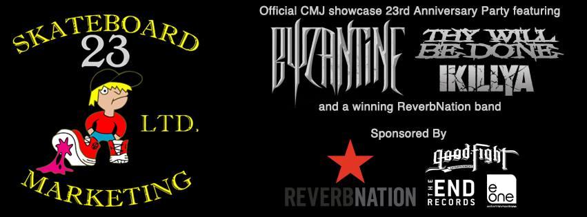 Poster - Skateboard Marketing 23rd - CMJ Showcase