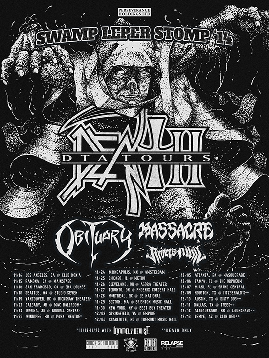 Tour - Death To All - 2014