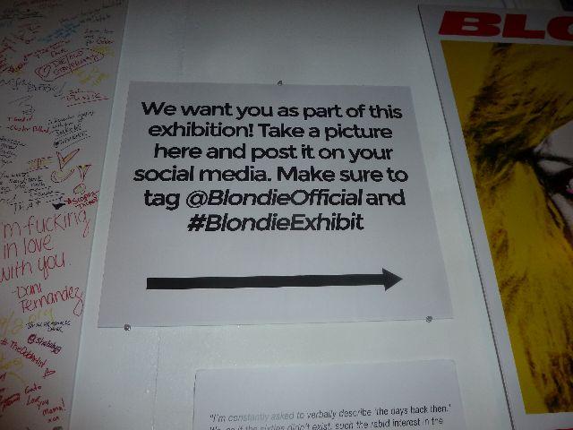 blondie, debbie harry, chris stein, blondie photographs, blondie 40th anniversary exhibit
