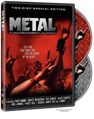 """""""METAL: A Headbanger's Journey""""by Sam Dunn"""