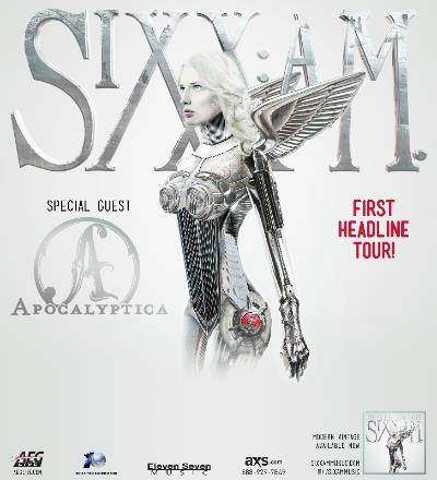 Tour - Sixx AM - 2014