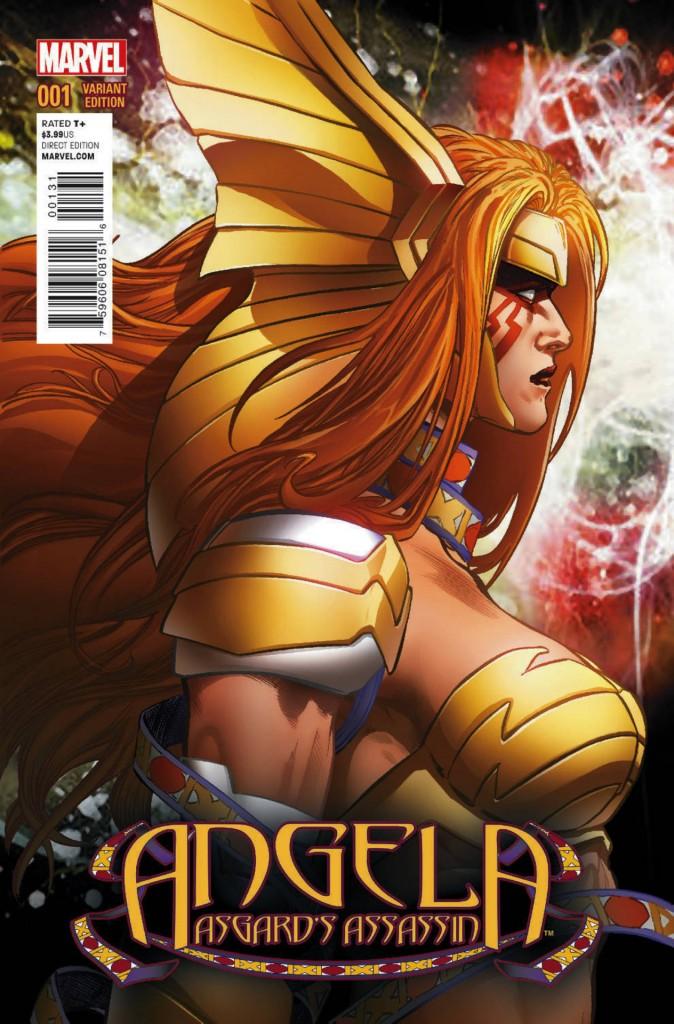 Comic - Angela Asgards Assassin 1- 2014