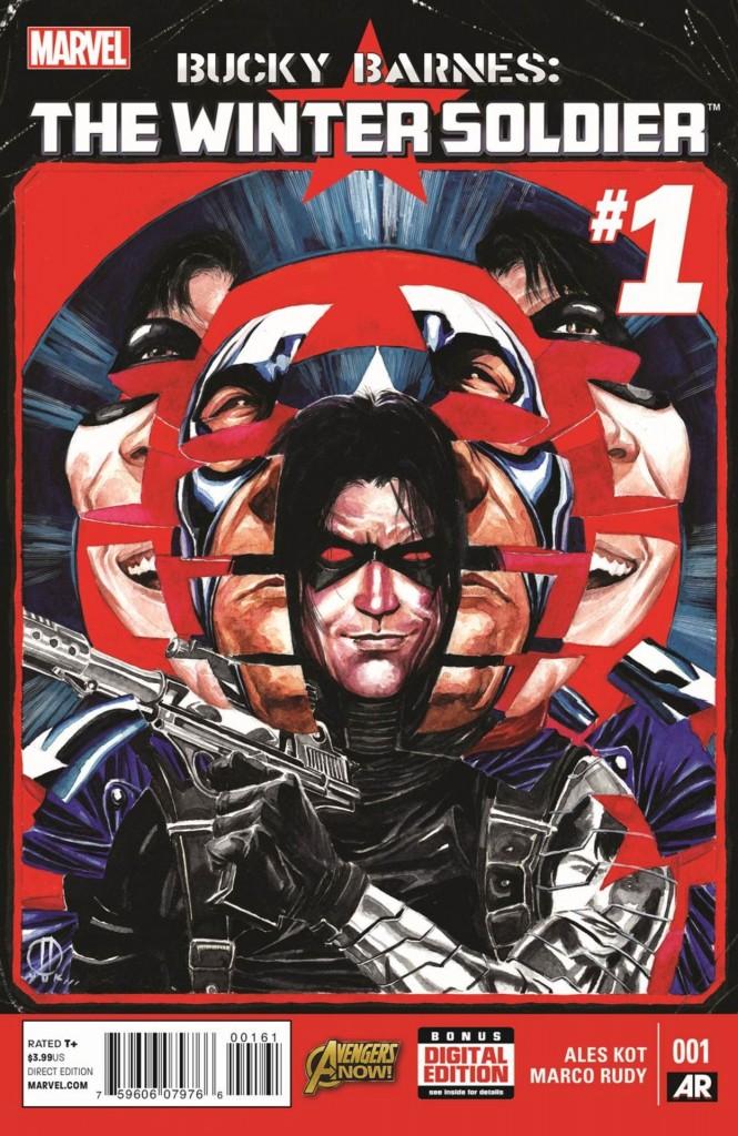 Comic - Bucky Barnes The Winter Soldier 1 - 2014